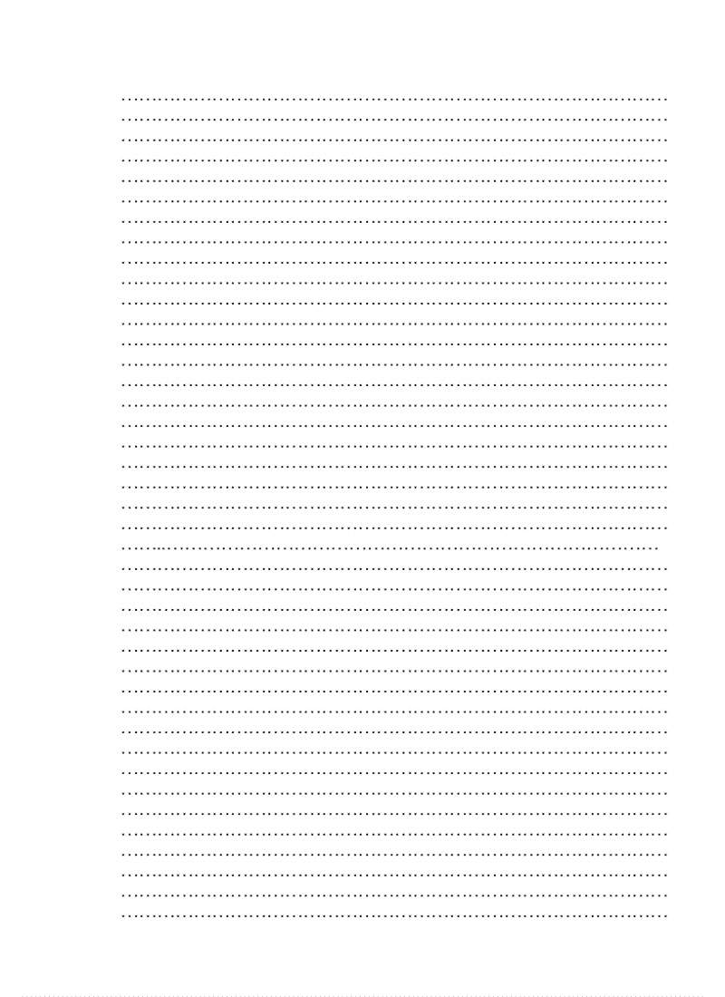 Mẫu giấy A4 có dòng kẻ ngang