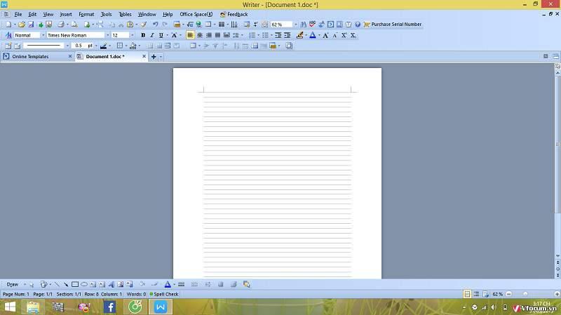 Thay vì download mẫu giấy A4 có đường kẻ ngang có khung thì hãy tự tạo ra chúng