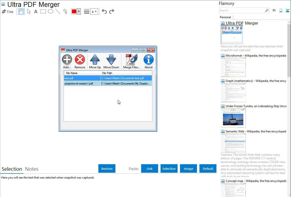 Ultra-PDF-Merger-giup-ghep-noi-file-PDF